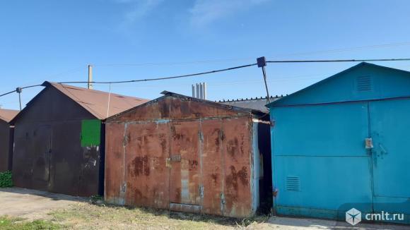 Металлический гараж 22,8 кв. м Металлист. Фото 1.