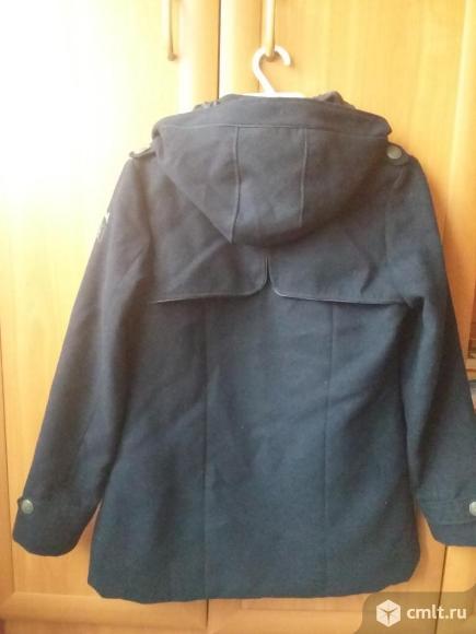 Пальто тёмно-синего цвета в идеальном состоянии для девочки подросткагВоронеж Сов.район. Фото 3.