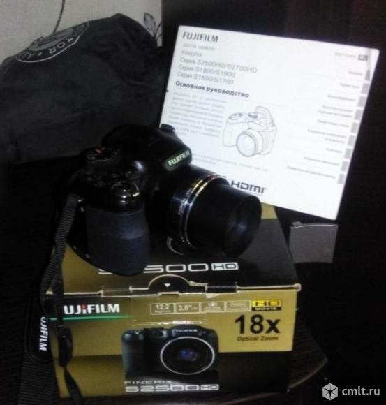 Фотоаппарат цифровой Fujifilm. Фото 2.