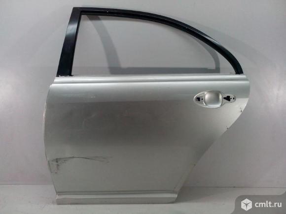 Дверь задняя левая TOYOTA AVENSIS II T25 03-08 б/у 6700405110 6700405130 4*. Фото 1.