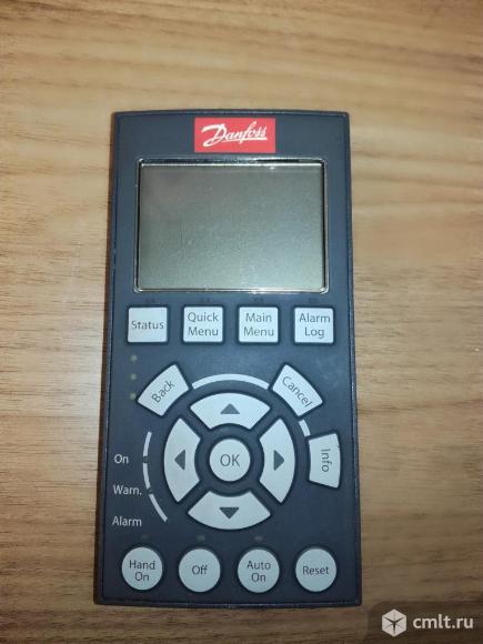 Продаю панель управления VLT® LCP 102 130B1107 DANFOSS DRIVES. Фото 1.