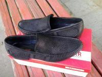 туфли, нубук, мужские, летние