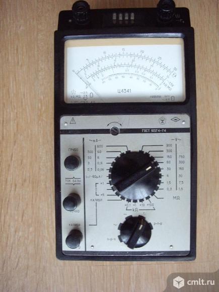 Ампервольтомметр-испытатель транзисторов Ц4341. Фото 1.