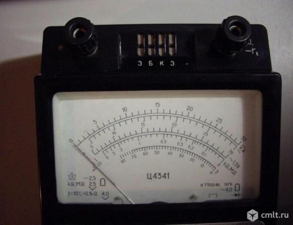 Ампервольтомметр-испытатель транзисторов Ц4341. Фото 3.
