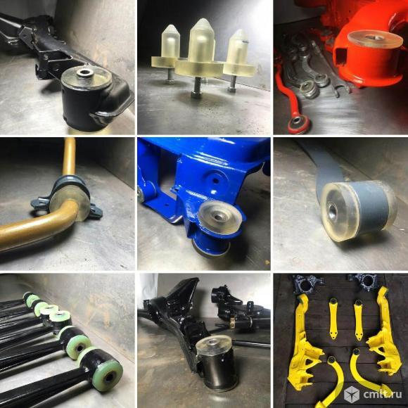 Оборудование для изготовления изделий из полиуретана. Фото 1.