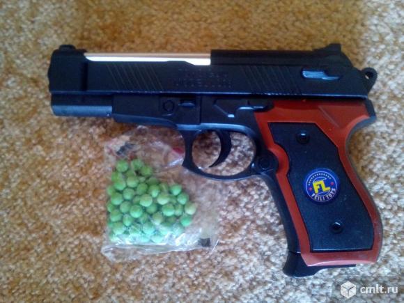 Пистолет пневматический. Фото 1.