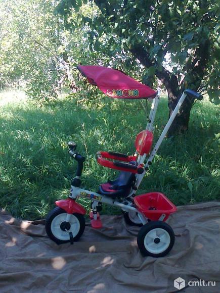 Велосипед трёхколёсный. Фото 1.