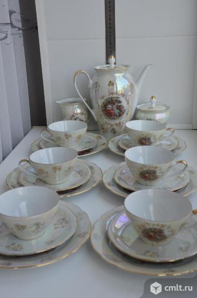 Столовые предметы сервиза Роза, Мадонна. Фото 6.