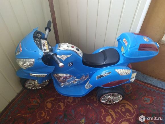 Детский электро мотоцикл. Фото 3.
