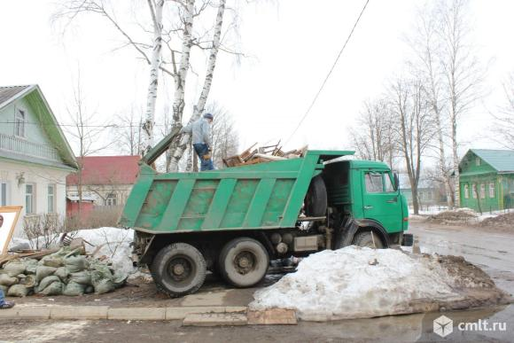 Вывоз любого бытового крупногабаритного мусора. Фото 2.