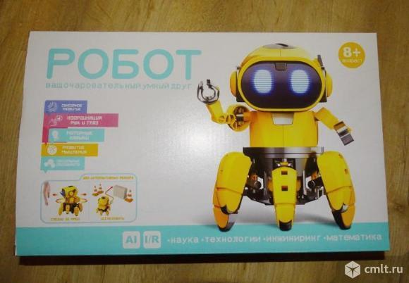 Робот Конструктор ваш очаровательный умный друг. Фото 1.