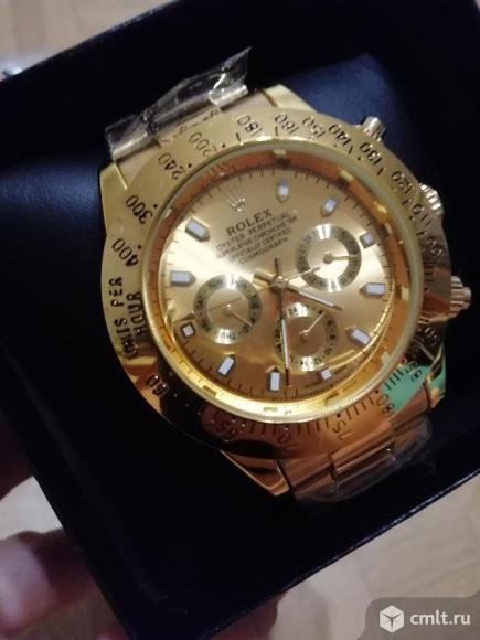 Механические часы Rolex Daytona полный функционал. Фото 1.