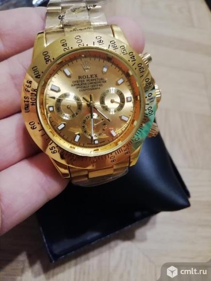 Механические часы Rolex Daytona полный функционал. Фото 3.