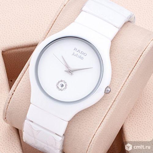 Часы rado Jubile белые новые. Фото 1.