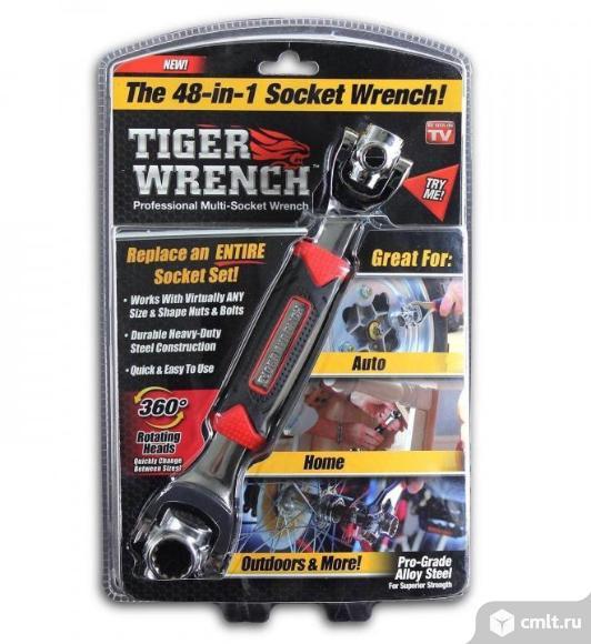 Универсальный ключ Universal Tiger Wrench 48 в 1. Фото 1.