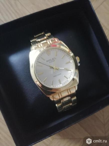 Женские золотые часы Rolex. Фото 1.