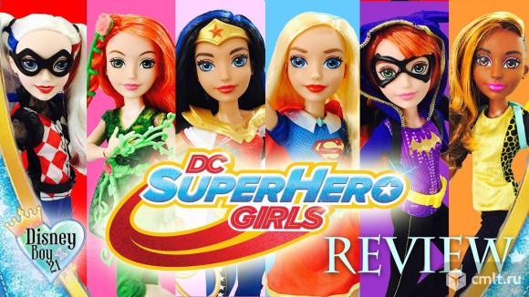 Набор кукол 4 в 1 Super Hero Girls Супер-женщина. Фото 1.