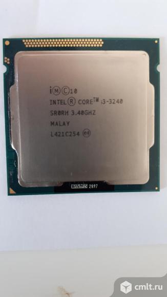 Процессор i3 3240. Фото 1.