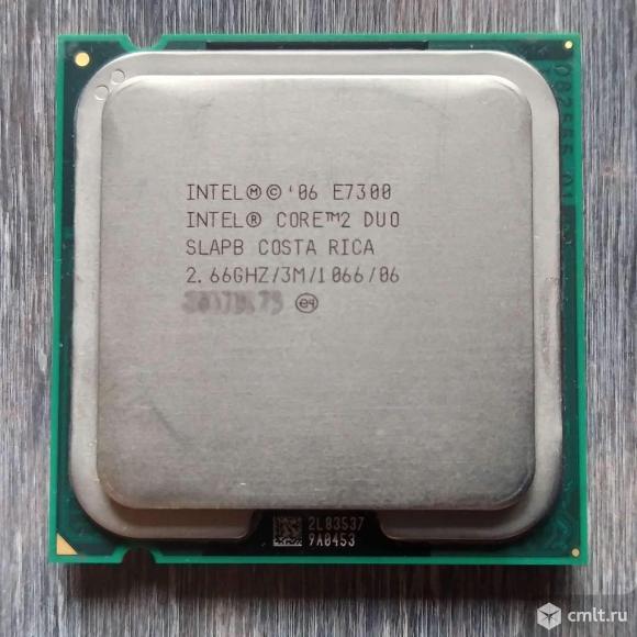 Intel Core 2 Duo E7300. Фото 1.