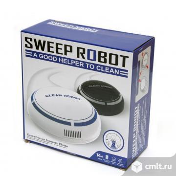 Мини робот-пылесос sweep robot новые. Фото 1.