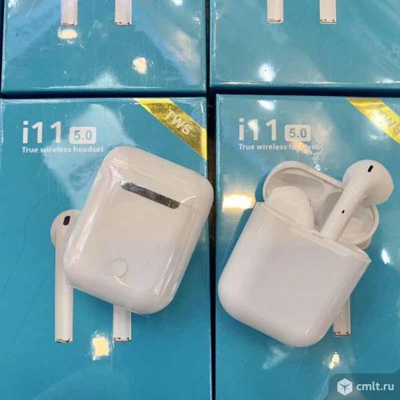 AirPods i11 TWS сенсорные с анимацией. Фото 2.