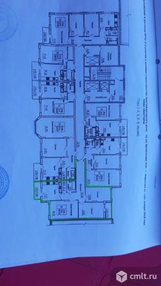 3-комнатная квартира 74,14 кв.м. Фото 3.