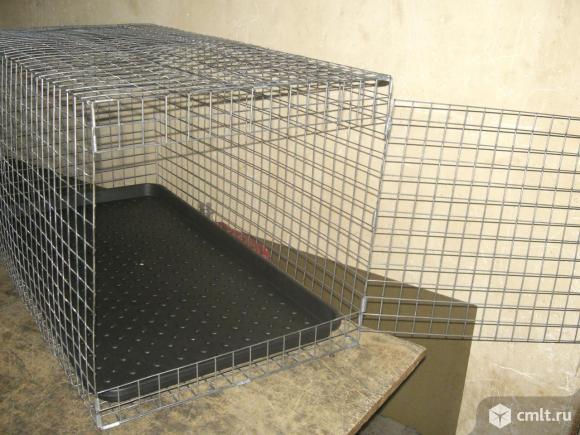 Клетка-переноска для собак и кошек. Фото 7.