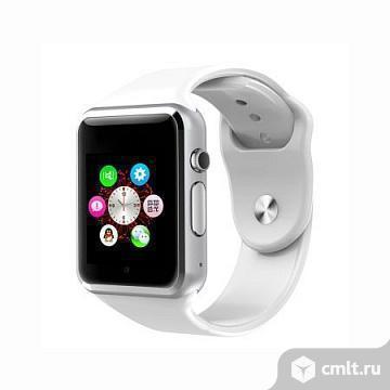Умные Часы Smart Watch W8 Белые. Фото 1.