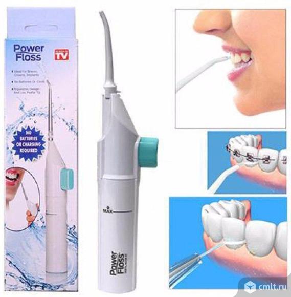 Стоматологический водяной флоссер power floss. Фото 1.