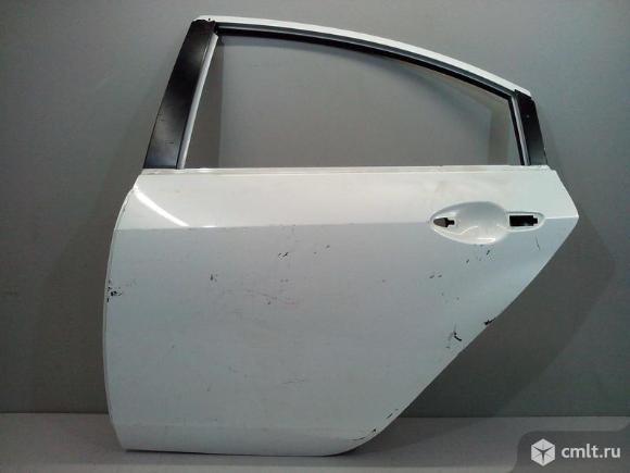 Дверь задняя левая MAZDA 6 хечбек 5D GH 08-13 б/у GSYM7302XJ GSYM7302XF 4*. Фото 1.