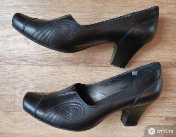 """Туфли черные из натуральной кожи, """"Марко"""". Фото 2."""