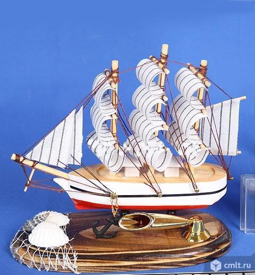 Сувенир Корабль (подставка д/ручки). Фото 1.