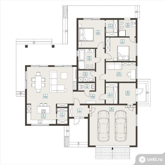 Продается: дом 190 м2 на участке 9 сот.. Фото 2.