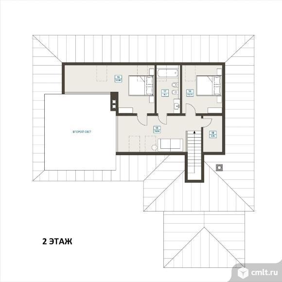 Продается: дом 213 м2 на участке 10 сот.. Фото 4.