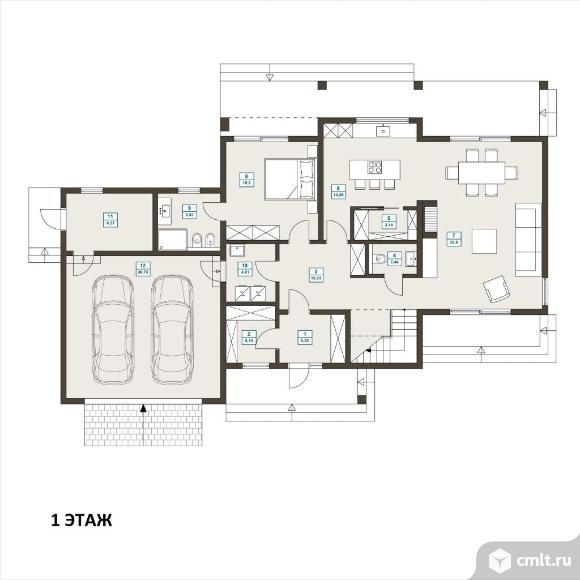Продается: дом 212 м2 на участке 12 сот.. Фото 3.