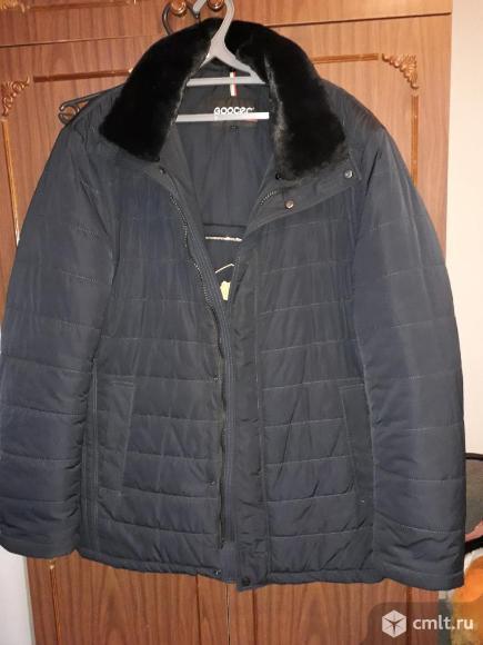 Продаю зимний мужской пуховик р.56. Фото 1.