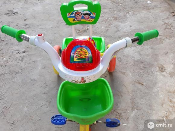 Детский велосипед трехколёсный. Фото 7.