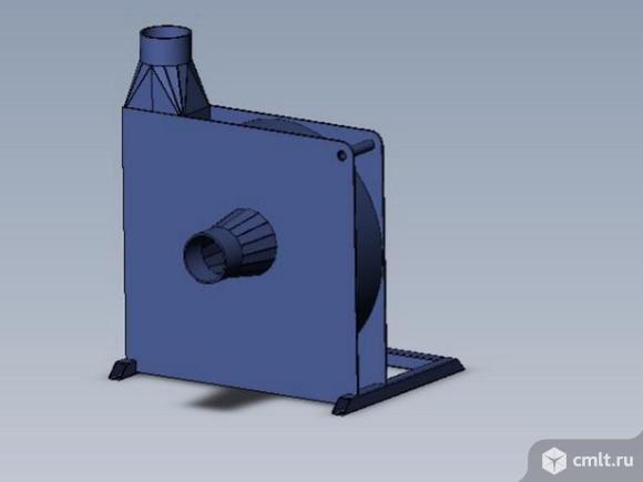 Радиальный вентилятор PZO-3-MU. Фото 3.