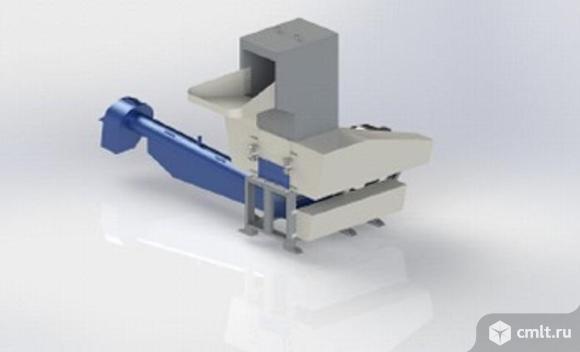 Моющая дробилка для ПЭТ PZO-800 DMS-DLS. Фото 1.
