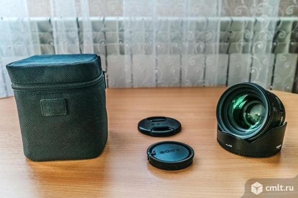 SIGMA AF 50 mm F/1.4 EX DG HSM Sony. Фото 1.