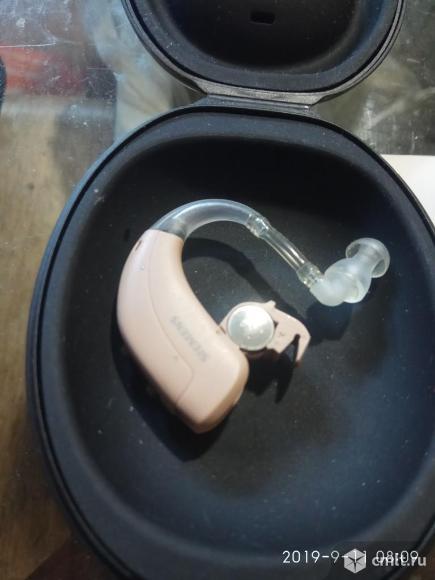 Продаю слуховой аппарат для усиления звука Siements. Фото 1.