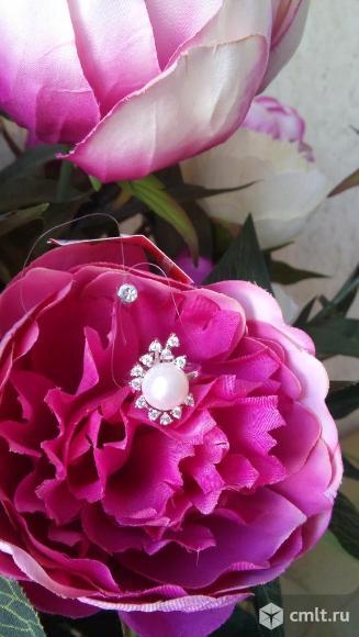 Новое серебряное кольцо с жемчугом. Фото 1.
