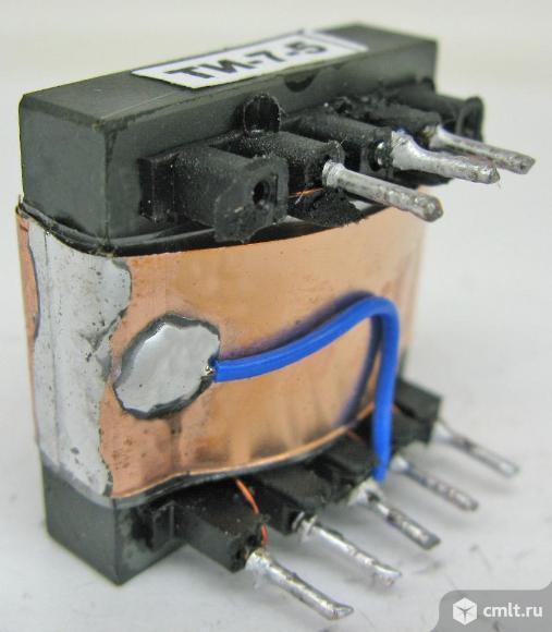 Трансформаторы импульсные на ферритовых сердечниках. Фото 1.
