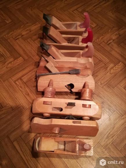 Набор ручных рубанков. Фото 1.