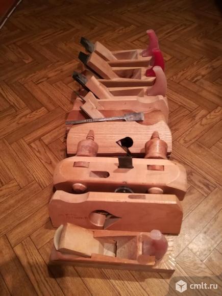 Набор ручных рубанков. Фото 2.