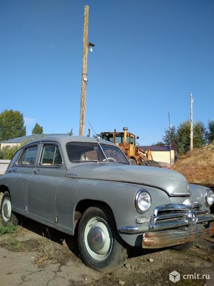 ГАЗ М20-Победа - 1953 г. в.. Фото 6.