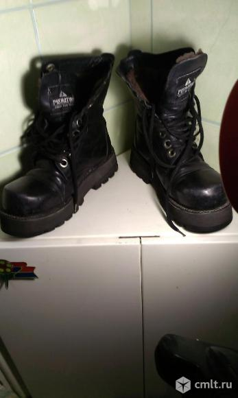 Ботинки-берцы.. Фото 1.