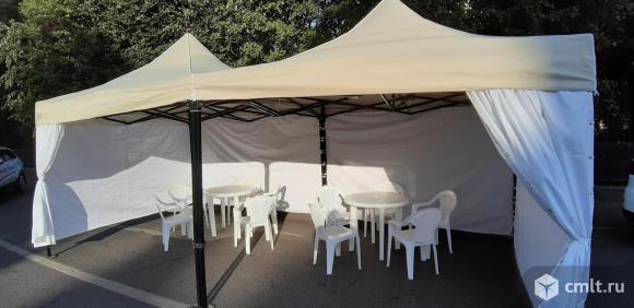Палатки, шатры, навесы в аренду. Фото 1.