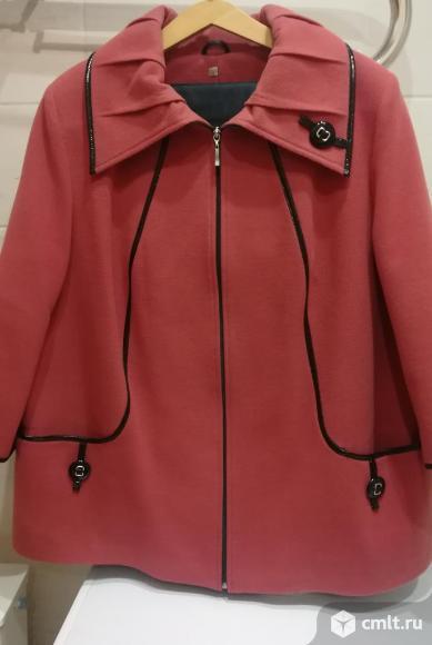 Пальто 60 размер. Фото 1.