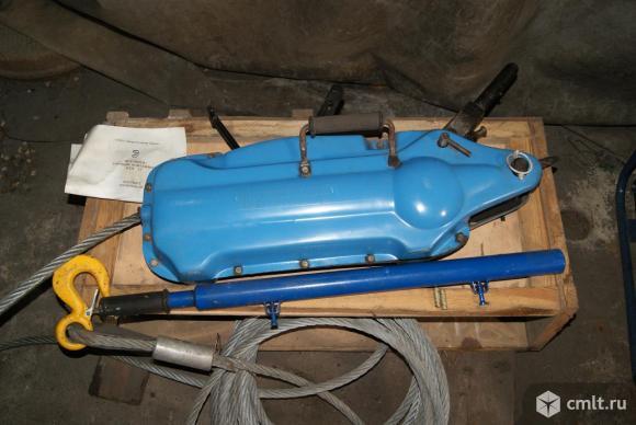 Механизм тяговый  монтажный (лебедка) на 3,2 тонны. Фото 1.